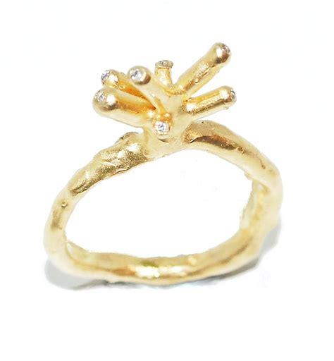 Handmade Unique Engagement Rings - organic handmade engagement ring origin