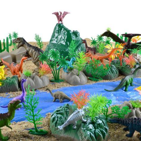 Mainan Animals World Set jurassic period dinosaur toys forest animals set