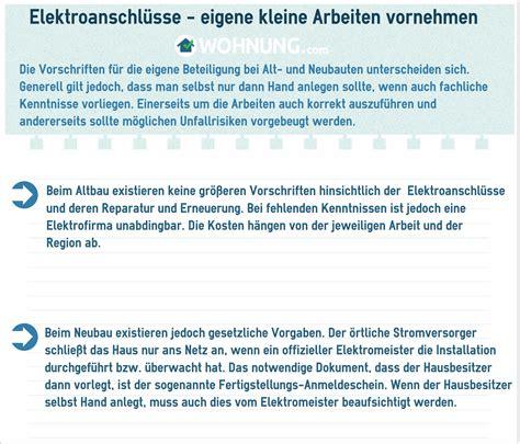Elektrische Rolläden Kosten Neubau by Elektrik Im Altbau Und Neubau Darauf M 252 Ssen Sie Achten