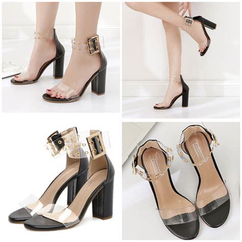Sepatu Boot Sport Black Zipper Promo Hanya 210 Ribuan Saja jual shh59410 black sepatu pesta wanita cantik 9cm