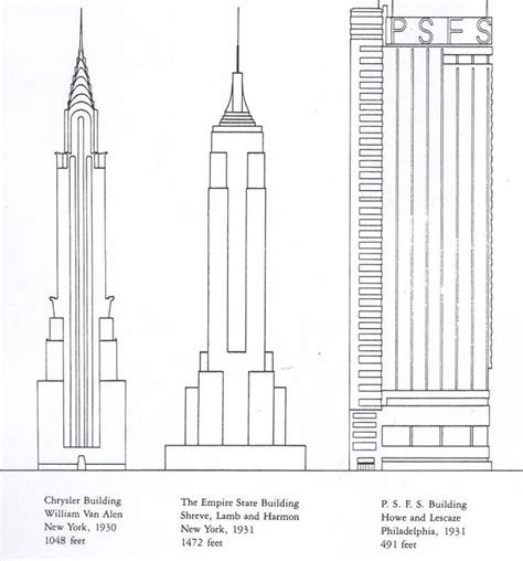 Chrysler Building Drawing by Chrysler Building Drawing Search Illustraties