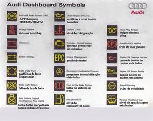 Audi Dashboard Symbols 2011 Audi A4 Instrument Cluster Pictures To Pin On