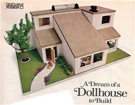 vintage dollhouses modern dollhouse plans