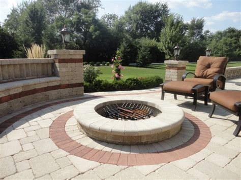 backyard brick fire pit arlington heights brick fire pit arlington heights