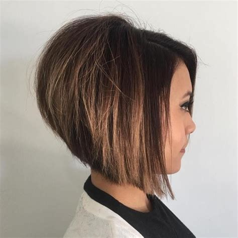high stacked layered bob hair cut best 25 stacked bobs ideas on pinterest