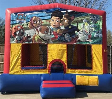 paw patrol house paw patrol inflatable bounce house rentals jumpers