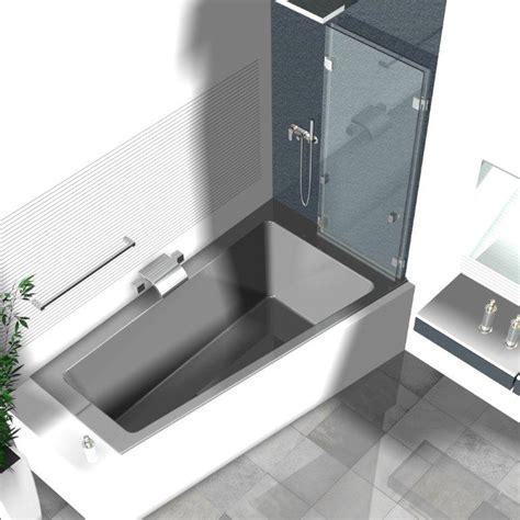 Badewanne Mit Duschwand by Duschwand Badewanne Badewannenaufs 228 Tze Aus Glas Glasduschen
