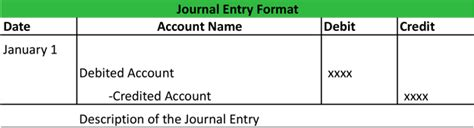accounting journal entry template general journal accounting journal template exle