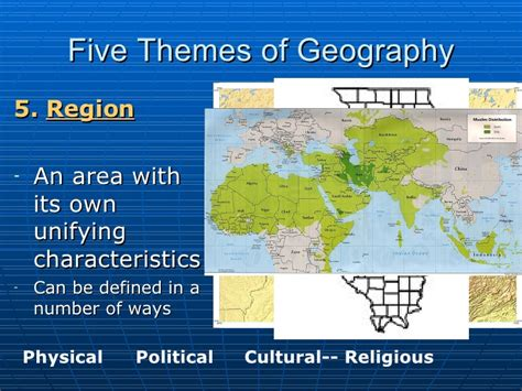 themes of physical geography introduction to world cultures 5 themes