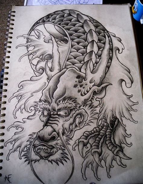 dragon head tattoo japanese 70007 dfiles me