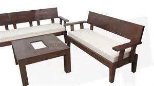 stylish looking wooden sofa set for your living room made to order furniture youtube