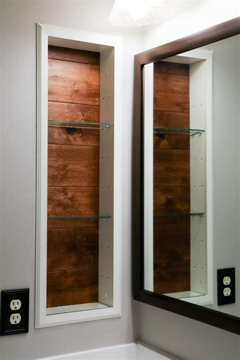 Best 25 Recessed Shelves Ideas On Pinterest Door Studs Recessed Shelves In Bathroom