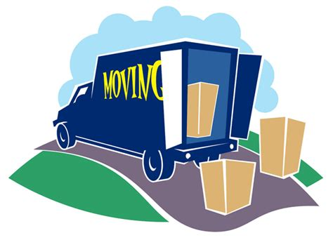 Moving L by Moving Truck Clipart Best