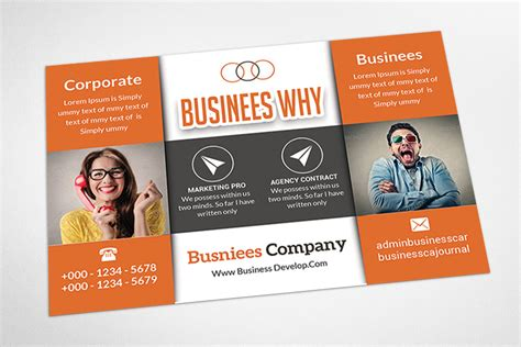 marketing postcard templates marketing postcard template card templates on creative