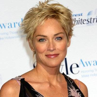 sharon stone short hair on round face hairstyles for oval face shapes best hairstyles