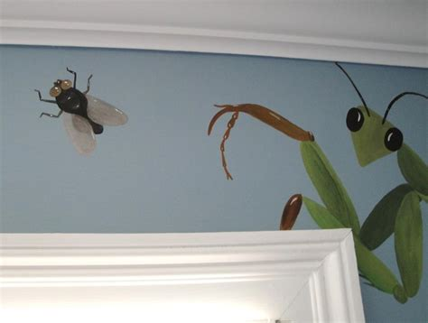 how to bug a room cool insect mural for bug room jacoby