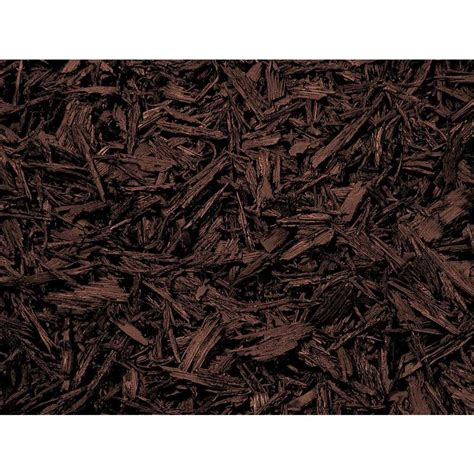shop rubberific 80 cu ft brown shredded bulk mulch at