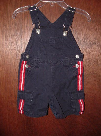 Rok Gymborre 3 4thn boy gymboree 4th of july overalls sz 3 6 mo euc