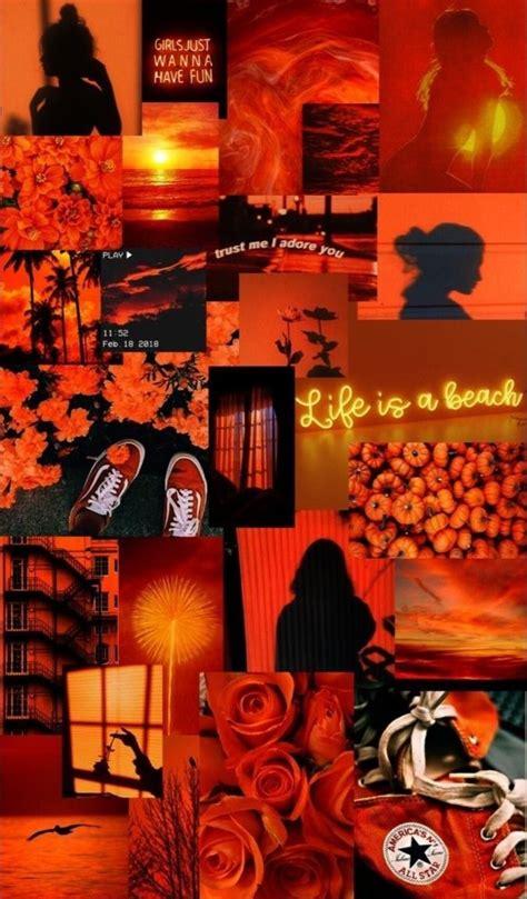 pin  chloeweiss   orange wallpaper