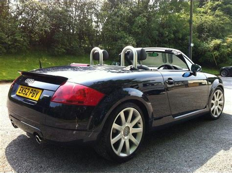 Used Audi Tt Convertible by Used 2002 Audi Tt Convertible 1 8 T Quattro 2dr Petrol For