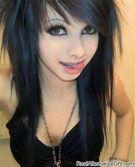 emo hairstyles black hair emo girl black hair brown eyes emos pinterest