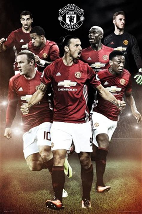 Football Stadium Wall Murals 2016 17 players manchester united fc poster buy online