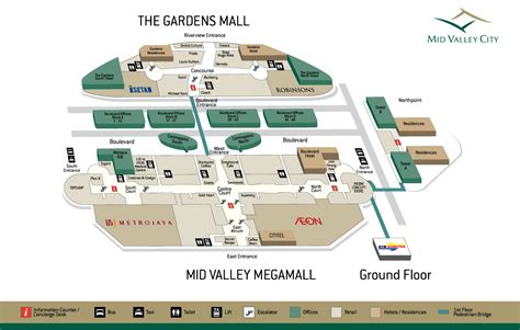 mid valley floor plan getting here by mid valley megamall