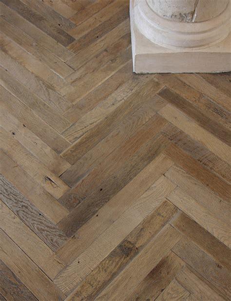 antique oak herringbone wood floor traditional
