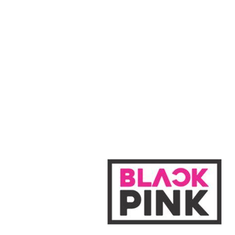 blackpink logo png blackpink black pink support caign twibbon