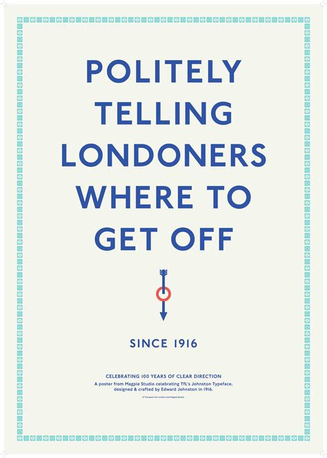 poster design jobs london johnston typeface centenary posters