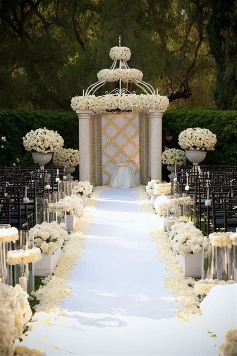 Wedding Ceremony Location Ideas by 35 Outdoor Wedding Decoration Ideas