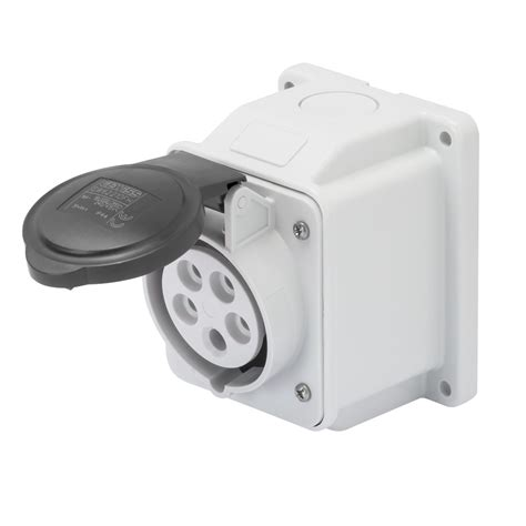 Mobile Mounting Socket 32a 2p socket outlet gw62411 gewiss