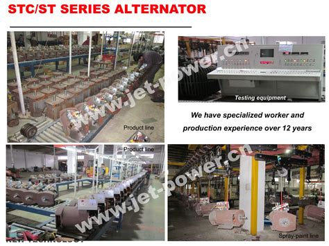 Altenator Power Matsumoto Stc 7 5kw st series single phase alternator