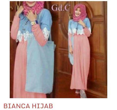 Gamis Maxi Dress Murah Azka Set Wolfice All Size Fit L Marun busana gamis muslim wanita modern quot set quot terbaru murah