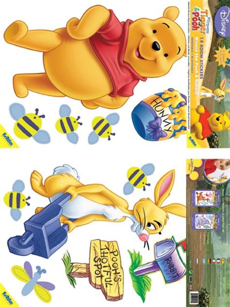 large winnie the pooh wall stickers winnie the pooh 14 wall stickers review compare