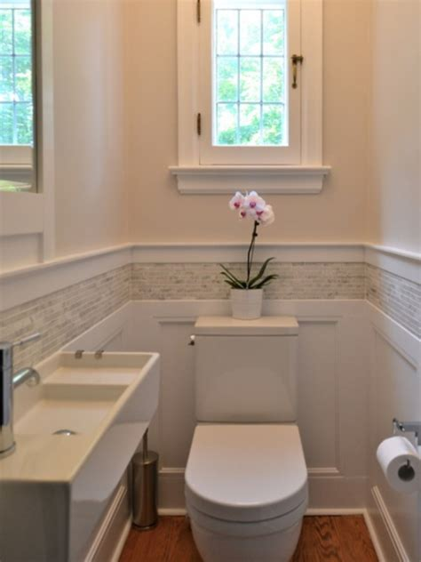 wainscoting tile bathroom designs ideas and decors