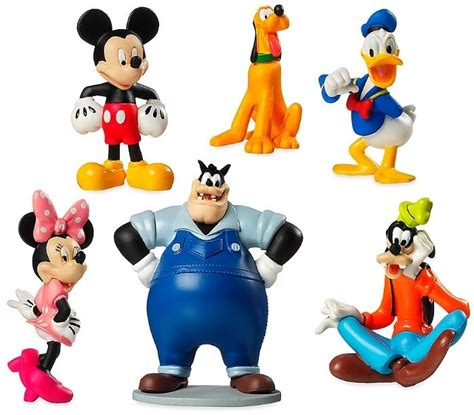 mickey mouse clubhouse  figure set disney pvc toy cake topper pete minnie goofy ebay