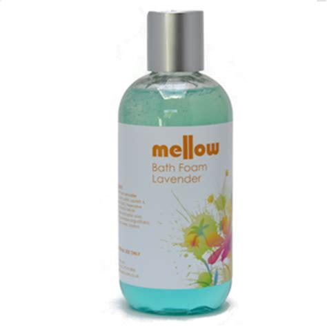 bathtub foam products lavender bath foam mellow skincare