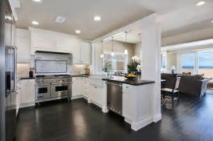 Cape Cod Design House Oceanfront Beach Style Kitchen Orange County By