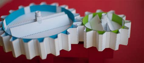 How To Make Paper Gears - the automata rob ives to create paper gear zine