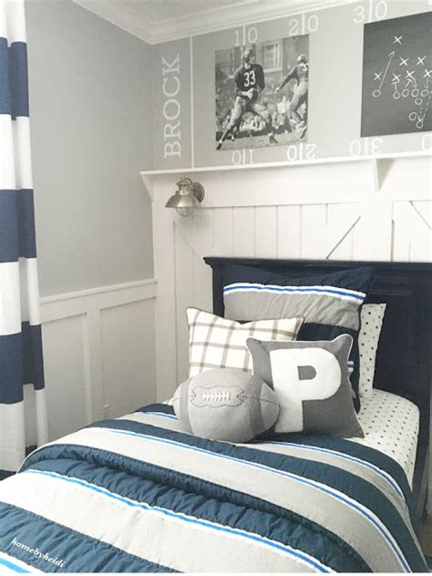 sports themed boys room home by heidi charming home tour town country living