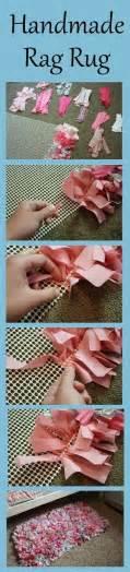 Easy Rag Rug by Easy Rag Rug Tutorial Use For Scrap Fabric