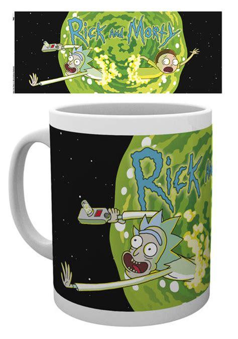 Mug Rick And Morty Rick Shove It Up rick and morty logo mug cup buy at europosters