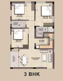 Home Plan Design 3 Bhk by Adiilaksmi Kalyani Heights In Phulanakhara Bhubaneswar