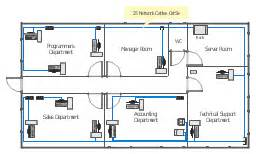 Network Floor Plan Layout Network Layout Ethernet Local Area Network Layout Floor