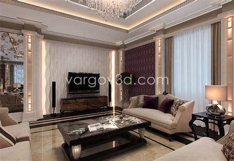 model living room 3d model the living room