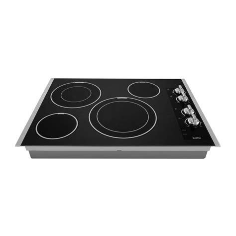 wolf electric cooktop problems mec9530bb maytag