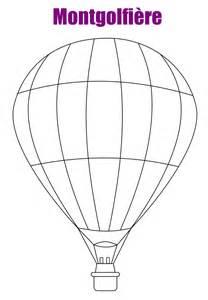 Montgolfiere Dessin Ballon Air L L L
