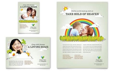 adoption flyer template foster care adoption flyer template from stocklayouts