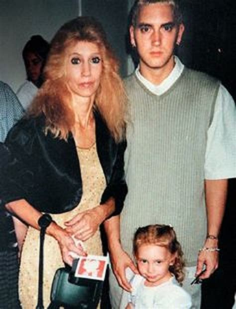 eminem mom deborah nelson mathers and eminem relation in good terms